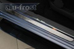 Предлагаем накладки на пороги Mitsubishi Pajero