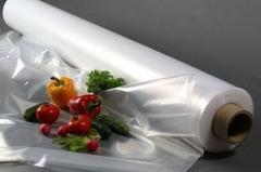Film polyethylene sleeve, semi-sleeve, cloth