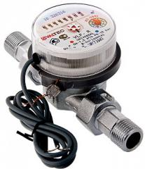 Лічильник води з імпульсним виходом JS-1,5-NK  Dn15 (ХВ)