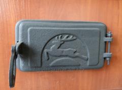Зольная чугунная дверца Nimrod 225*135