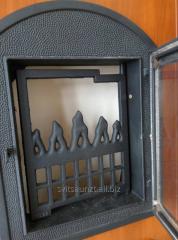Печные чугунные дверцы Dali 350*470