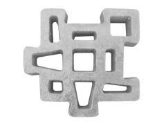 Concrete tile for KRAB paths. Size: 480*480*75.