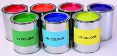 Ультрафиолетовая краска EUROLITE UV-active paint,