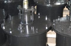 Cylinder of system of unloading of an okatyshevoz,