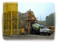 Concrete mixes and cement mortars