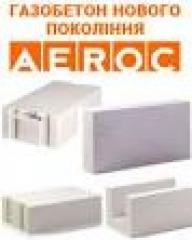 Газобетон ( Aeroc, AAC, ТБК, Ju- Ton, Stonelight )