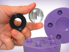 Silicone rubber, polyurethane rubber, molding