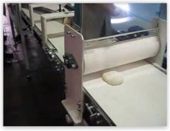 Semi-automatic line for the production of