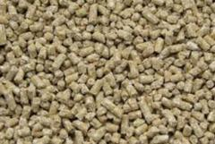 Stern, compound feed for fish