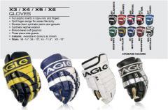 Перчатки хоккейные Eagle
