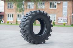 The tire 12, 5/80 – 18 for JCB