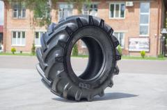 Tire 15,5/80-24 (fir-tree) of BKT
