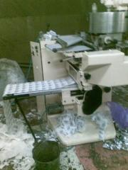 The automatic machine for packing of tea in