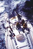 Парусно-моторная яхта WOR - 60