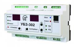 Блок защиты электродвигателей УБЗ-302