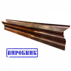 Copper eaves
