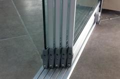 Glazing of balconies, loggias: sliding systems,