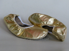 Flats leather. Belli Dance Gold model.