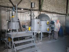 Biogas BGU-10 installation