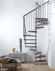 Винтовая лестница Arke  Fontanot Cube D118 (метал