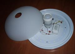 Lamps for production buildings