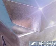 TsA 04 alloy quality (Chushka Spit).