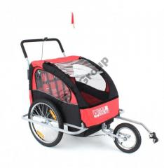Tourist cycle trailer (cycle trailer) 2 passenger