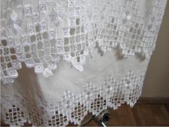 La cama de boda, el lino 100 %