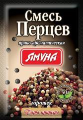 Mix of pepper peas
