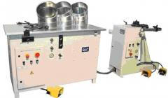 The machine for production of air ducts
