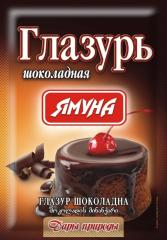 Glazur of a shokoladn