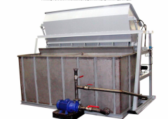 Installation for preparation of salt solution.