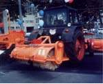 Machines for processing of rigid pavements - the