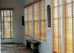 Wooden blinds of the SAVANA collection of 50 mm.