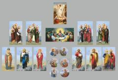 Icons for an iconostasis