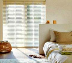 Wooden blinds of the VINTAGE collection of 35 mm