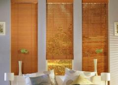 Blinds are bamboo, the ECONOMIC collections of 25