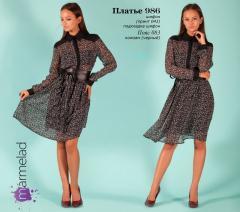 Платье 986