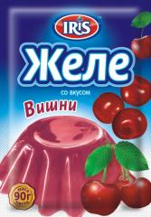 Jelly with taste of Cherry
