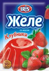 Jelly with taste of Strawberry