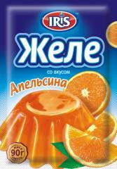 Jelly with taste of Orange