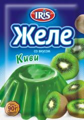 Jelly with taste of the Kiwi