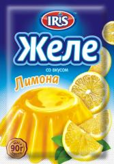 Jelly with taste of the Lemon