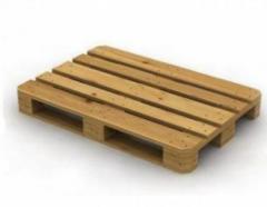 Semi-pallets wooden