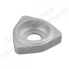 The bearing case from constructional metal powder