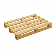 The pallets facilitated