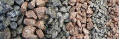 Crushed stone kvartsitny (frost resistance F 300,