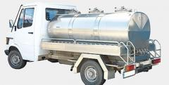 Tankers for the dairy industry