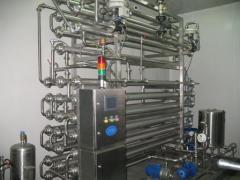 Стерилизационная установка (Пастеризация молока)