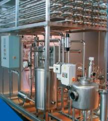 Pasteurization and cooling installation (Milk